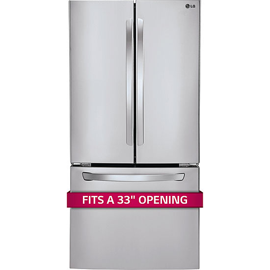 Lg Lfc24770st Energy Star 239 Cu Ft 33 Wide French Door