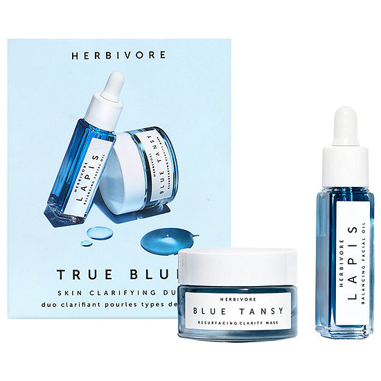 Herbivore Mini True Blue Skin Clarifying Duo