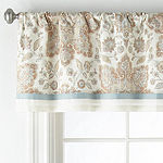 JCPenney Home Adelaide Rod-Pocket Tailored Valance
