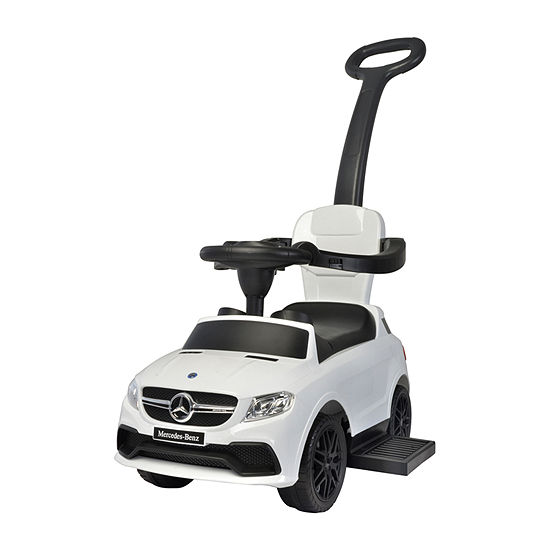 Best Ride On Cars Mercedes 3 In 1 Ride-On