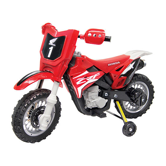 Best Ride On Cars Honda Crf250r Dirt Bike 6v Red Ride-On Car