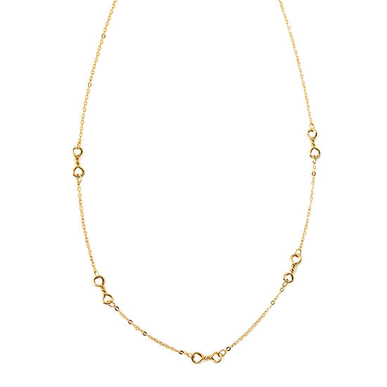 Made in Italy 14K Gold 18 Inch Rope Chain Necklace