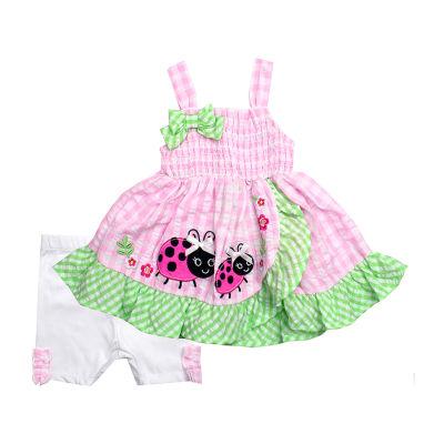Nanette Baby 2-pc. Short Set Toddler Girls
