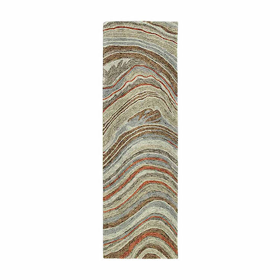 Kaleen Marble Michelle Hand-Tufted Wool Rectangular Rug