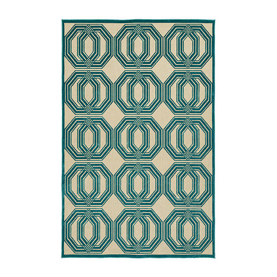 Kaleen Breath of Fresh Air 3D Rectangular Indoor/Outdoor Rug