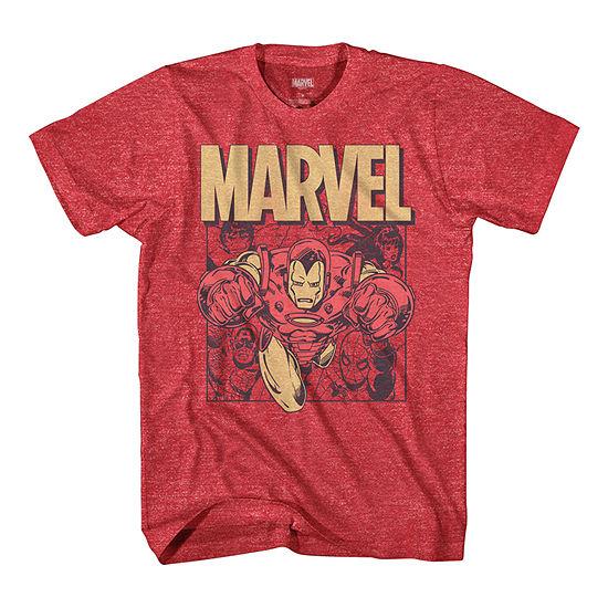 Mens Iron Man Graphic T-Shirt