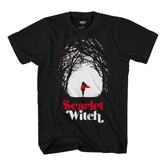 Mens Scarlet Witch Graphic T-Shirt