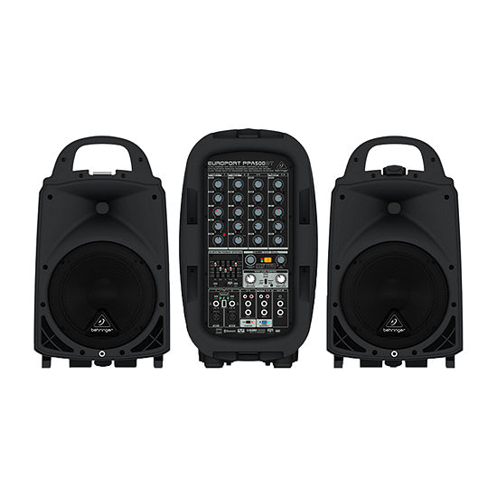 Behringer Europort Ultra-Compact 500-Watt 6-Channel Portable PA System