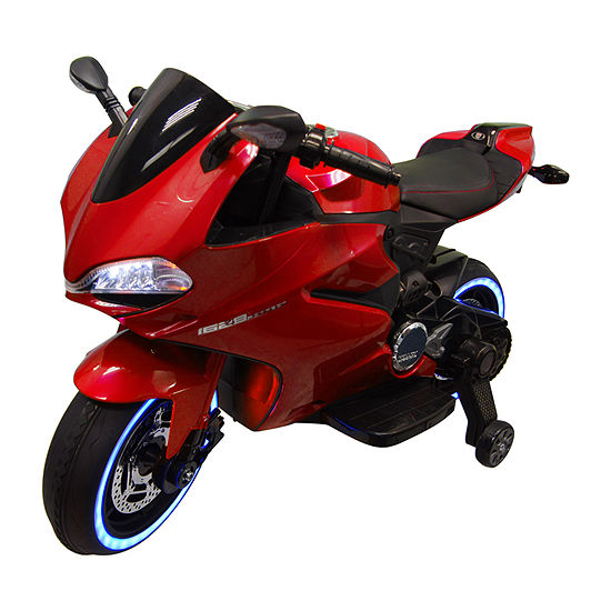 Best Ride On Cars Tron Motorcycle 12v Ride-On