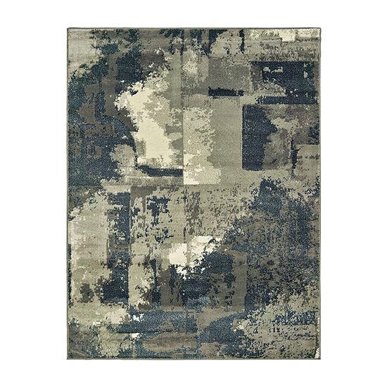Covington Home Raylan Abstract Rectangular Indoor Rugs