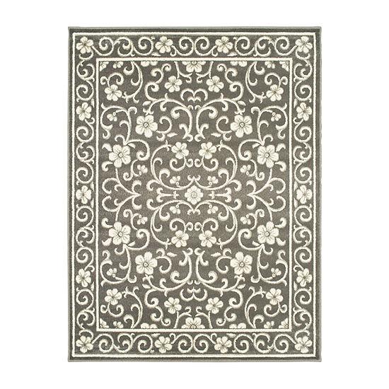 Covington Home Raylan Scroll Rectangular Indoor Rugs