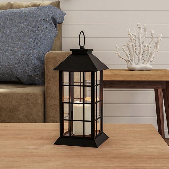 Lavish Home Vintage Grid Design Flameless Candle