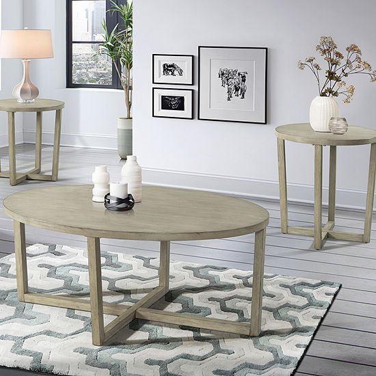 Simmons Casegoods Treviso Coffee Table Set