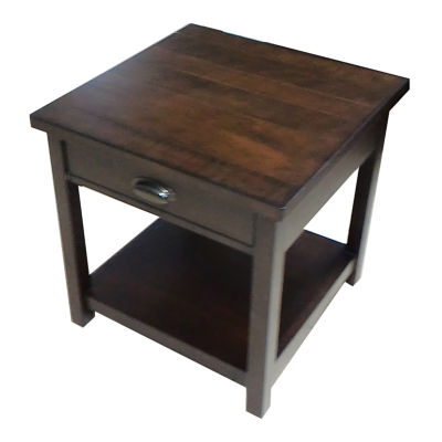Simmons Casegoods Cumberland 1-Drawer Storage End Table