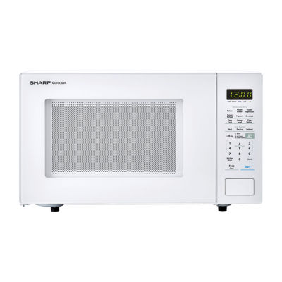 Sharp® Carousel 1.4 Cu. Ft. 1000W Countertop Microwave Oven in White