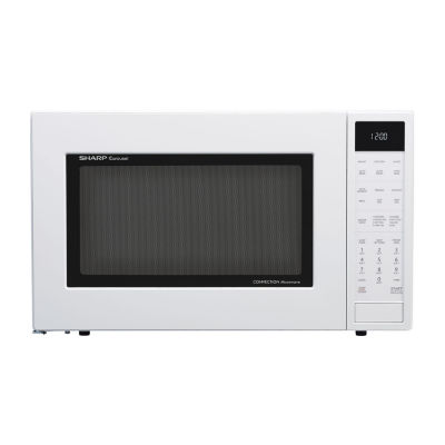 Sharp® 1.5 Cu. Ft. 900W Convection Microwave Oven, White