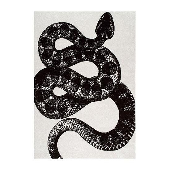 nuLoom Thomas Paul Power Loomed Serpent Rectangular Rug
