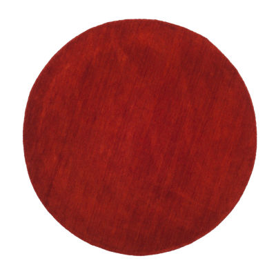 Safavieh Himalaya Collection Letters Solid Round Area Rug