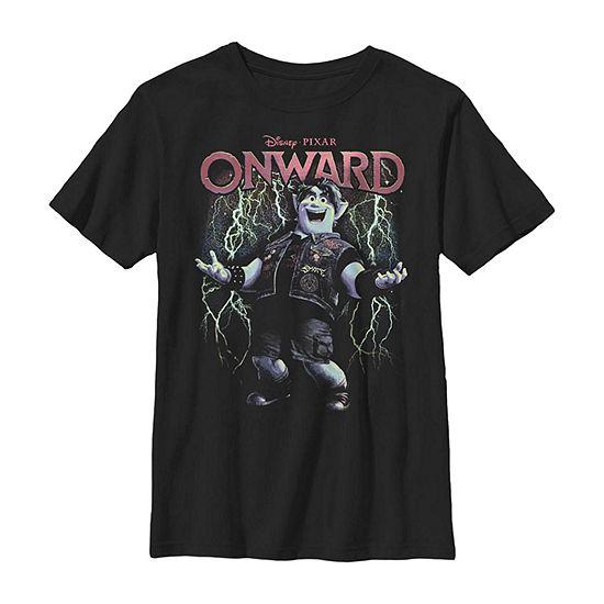 Disney Pixar Onward Pixies Pack A Punch Little / Big Kid Boys Short Sleeve T-Shirt