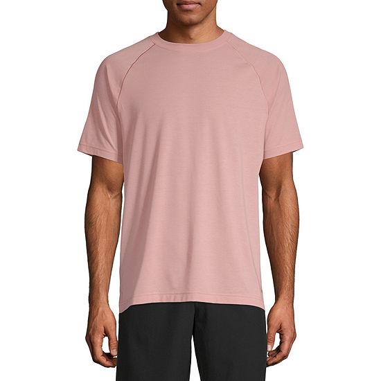 Msx By Michael Strahan Yoga Mens Crew Neck Short Sleeve T-Shirt