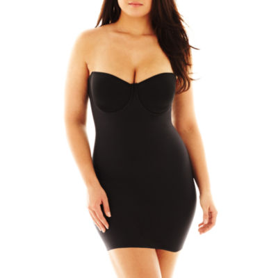 Naomi And Nicole Luxurious Shaping® Wonderful Edge® Strapless Shapewear Slips - 7777