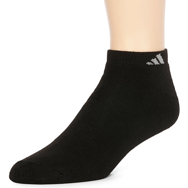adidas® Men's 6-pk. Athletic Cushioned No-Show Socks - Big & Tall