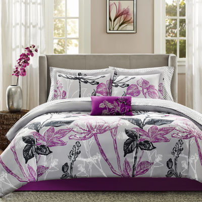 Madison Park Nicolette Complete Bedding Set with Sheets