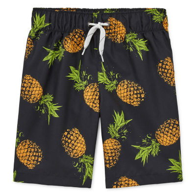 City Streets Boys Swim Trunks Husky-Preschool