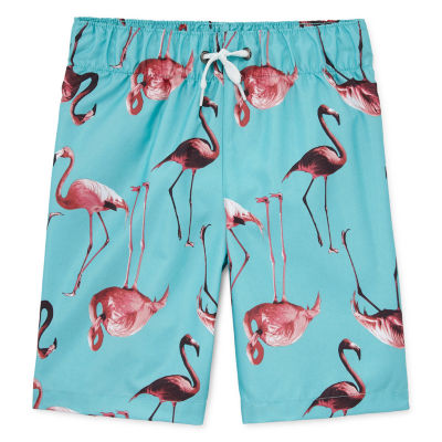 City Streets Boys Swim Trunks Husky