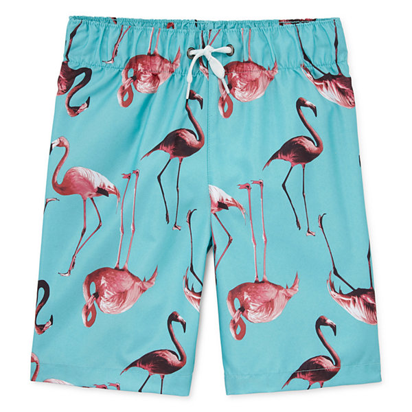 City Streets Boys Swim Trunks-Toddler