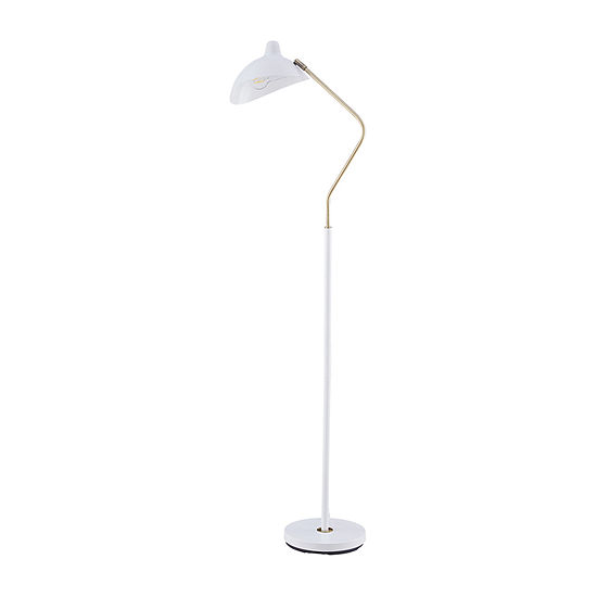 Southern Enterprises Lanswit Pendant Metal Floor Lamp