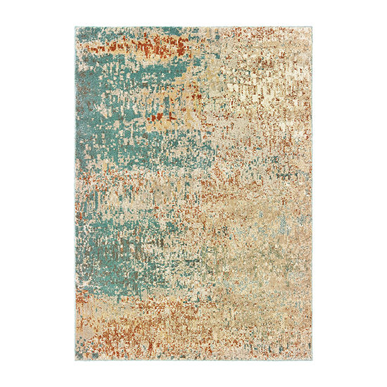 Covington Home Callahan Abstract Rectangular Indoor Rugs