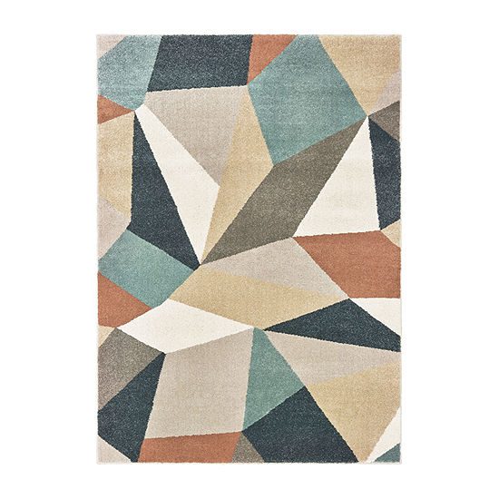 Covington Home Callahan Geometric Rectangular Indoor Rugs