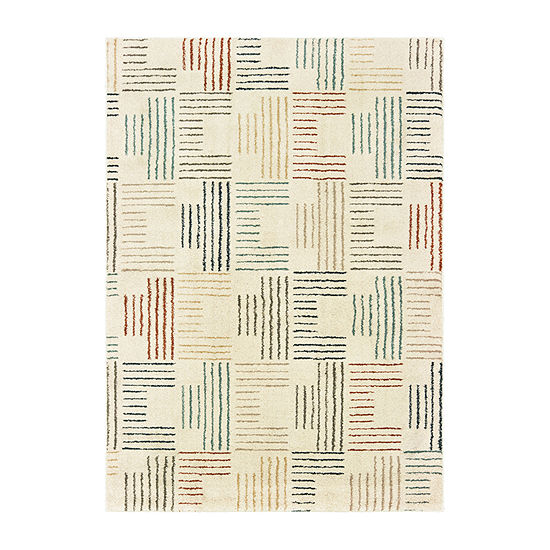 Covington Home Callahan Stripe Rectangular Indoor Rugs