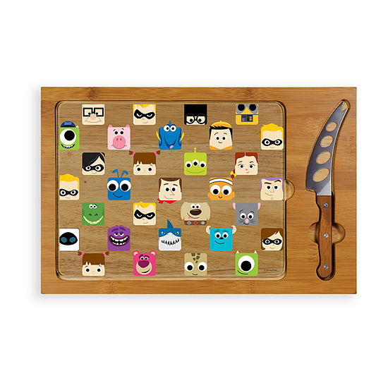 Picnic Time Icon-Pixar Collection 3-pc. Cheese Board Set