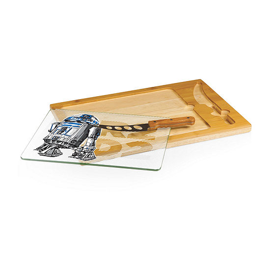 Picnic Time Icon-Star Wars R2d2 3-pc. Cheese Board Set
