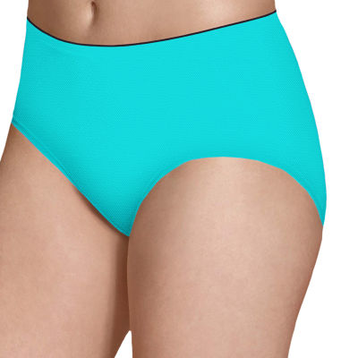 Fruit of the Loom Fruit Of The Loom Ladies Breathable 5 Pair Knit Brief Panty 5dpblb1