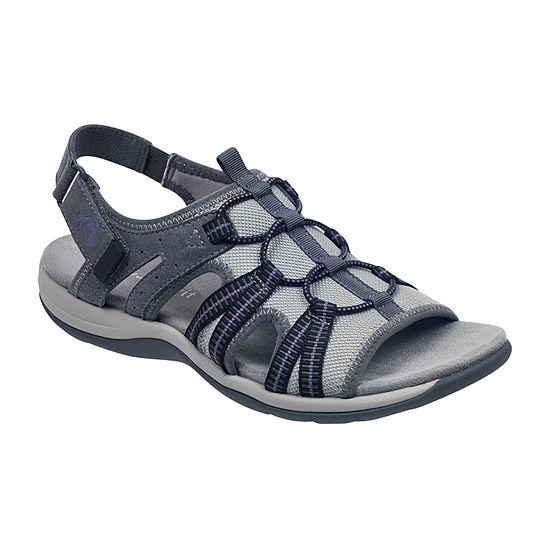 Easy Spirit Womens Sespark2 Slingback Strap Flat Sandals