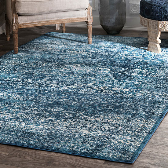 Nuloom Vintage Medallion Enddy Rectangular Rug