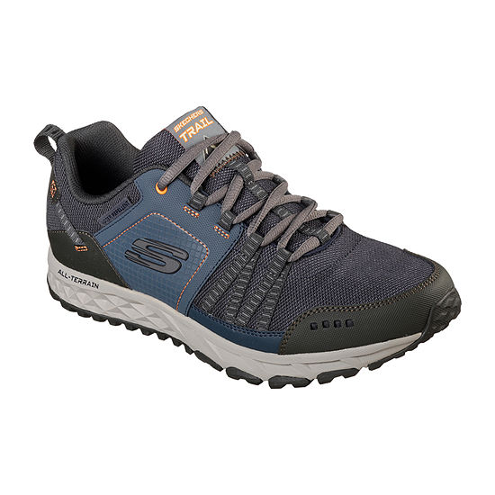 Skechers Escape Plan Mens Walking Shoes Lace-up