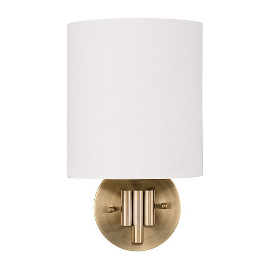 Southern Enterprises Wicla Table Lamp Wall Sconce