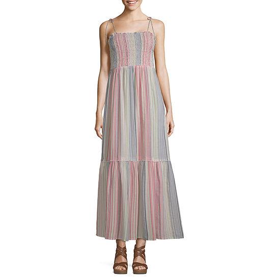 Arizona Sleeveless Maxi Dress-Juniors