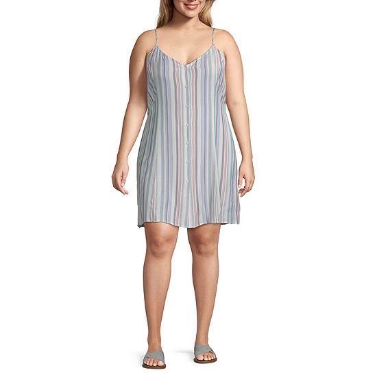 Arizona Sleeveless Sundress-Juniors Plus