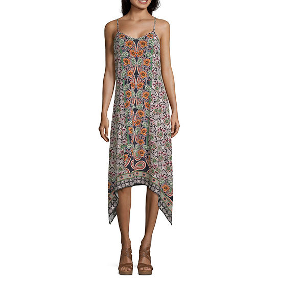 Weslee Rose Sleeveless Patchwork Maxi Dress