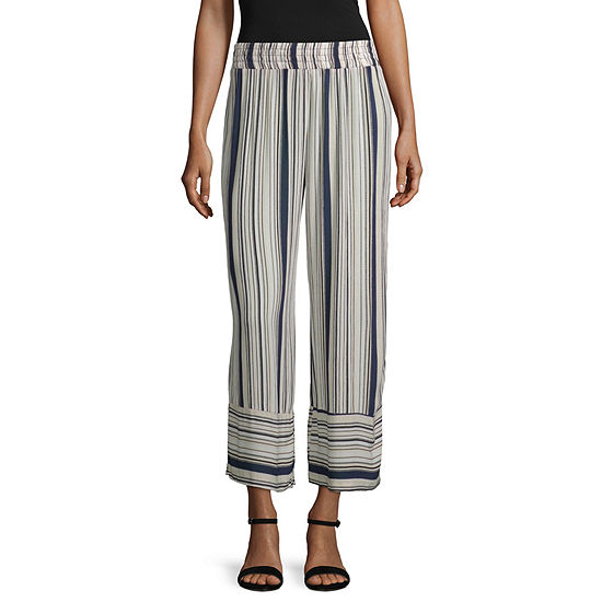 by&by Womens Classic Fit Wide Leg Trouser-Juniors