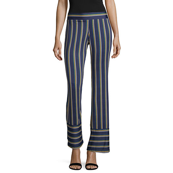 by&by Curvy Fit Flare Trouser-Juniors