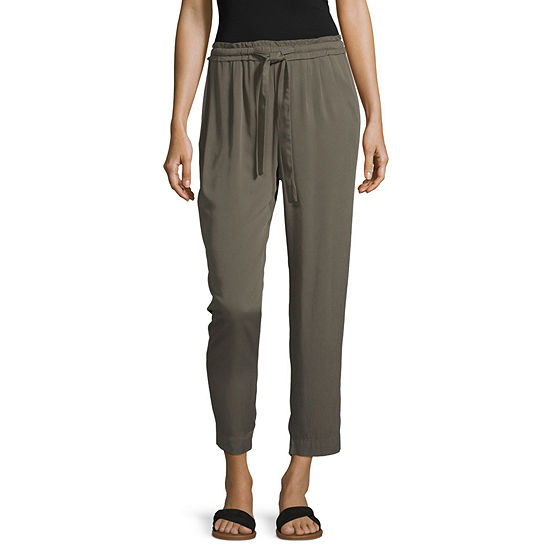 a.n.a Womens Mid Rise Ankle Pant