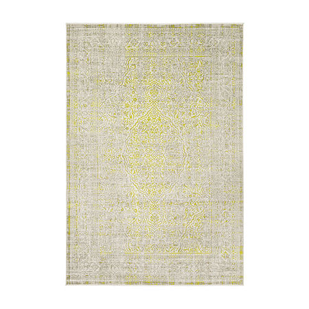 Decor 140 Jilkso Rectangular Indoor Rugs, One Size , Green