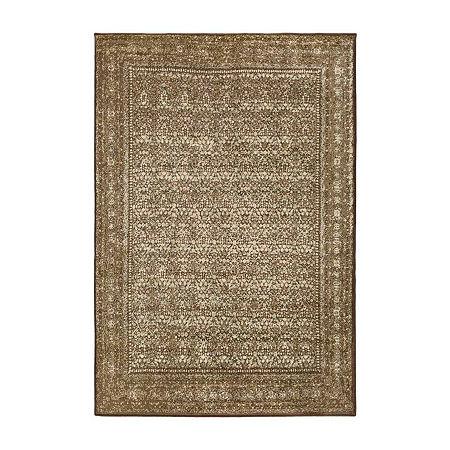 Decor 140 Juargas Rectangular Indoor Rugs, One Size , Brown