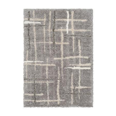 Decor 140 Kaiden Rectangular Indoor Rugs, One Size , Gray